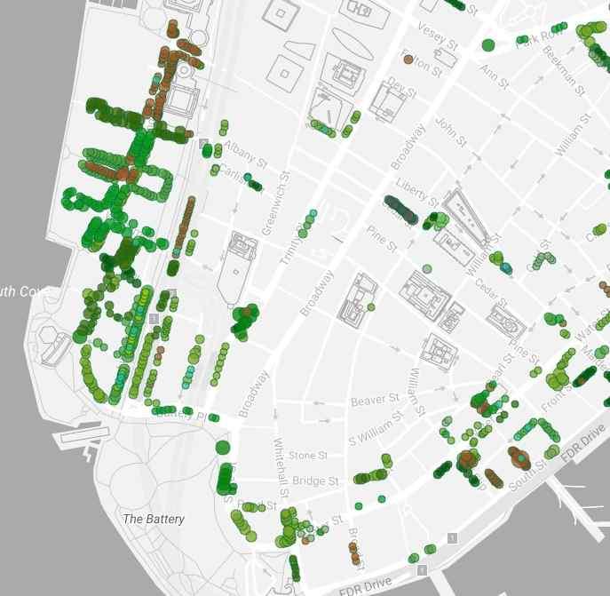 Каменные джунгли Манхэттена: 25 жителей, 1 здание, 1 дерево