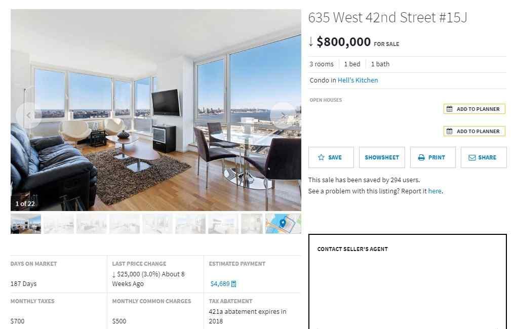 """Вечный вопрос """"Аренда или Покупка"""" на примере квартиры в Нью-Йорке"""