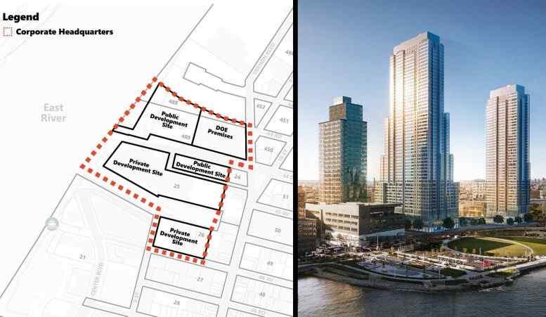 Amazon построит в Нью-Йорке свою новую штаб-квартиру. Подробности.
